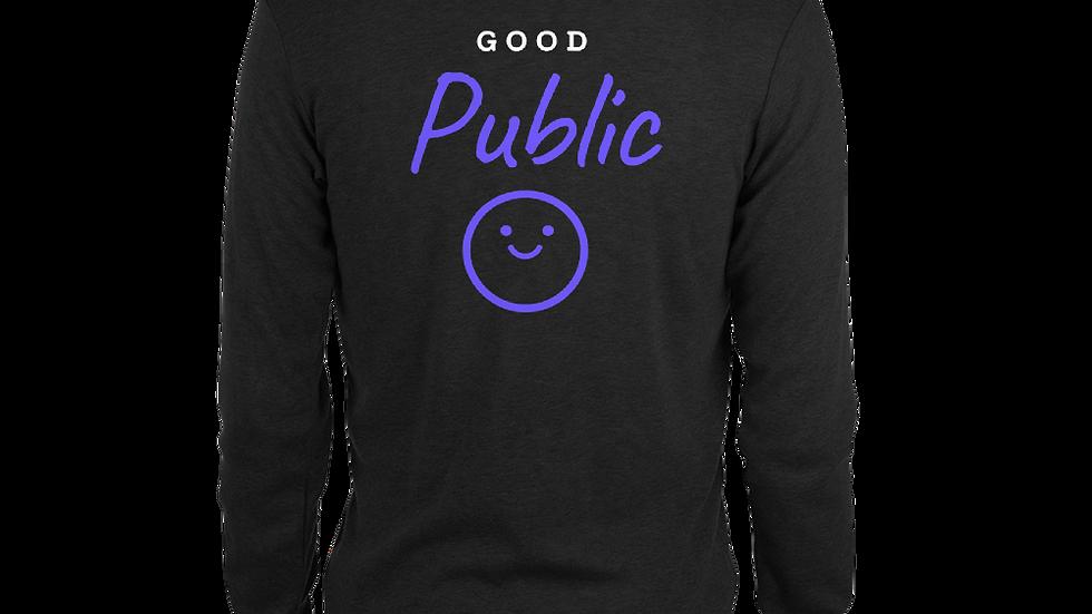 GoodPublic Logo Unisex zip hoodie