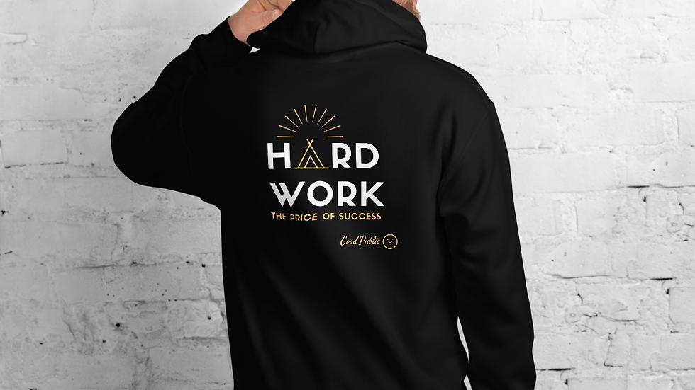 GoodPublic Hard Work Unisex Hoodie