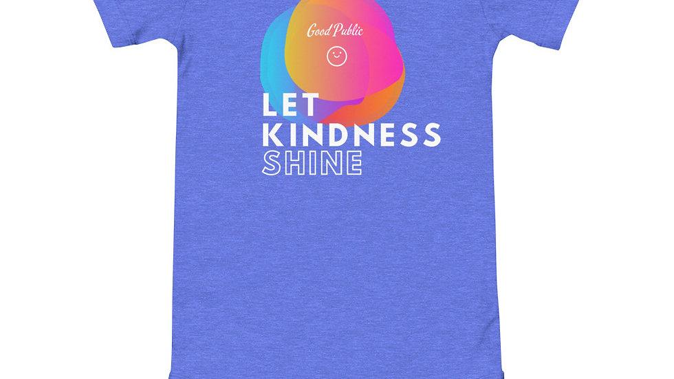 GoodPublic Baby Onesie Let Kindness Shine