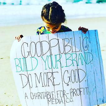 GoodPublic... Do more GOOD in the world!