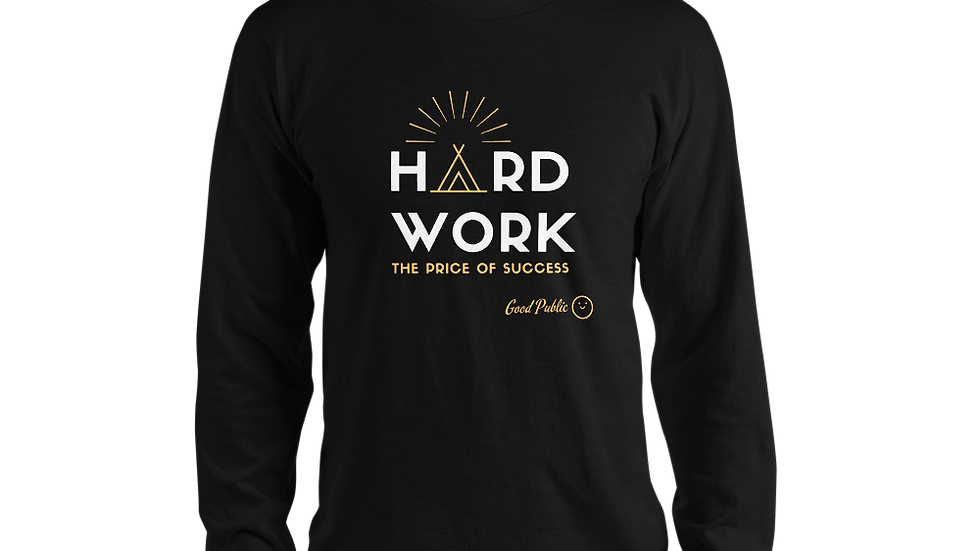GoodPublic Hard Work Long sleeve t-shirt