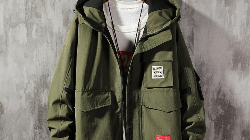 Mens Casual  Hoodie Jacket Men Warm, Thick Coat Plus Size  Windbreaker Coat