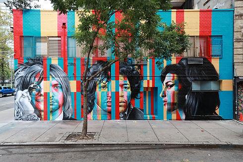 Eduardo Kobra _The 27 Club_ ST.ART Agenc