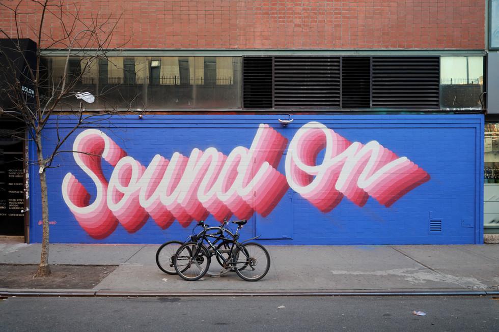 "Pandora ""Sound On"" campaign"