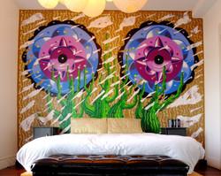 Iena Cruz Mural for the apartment