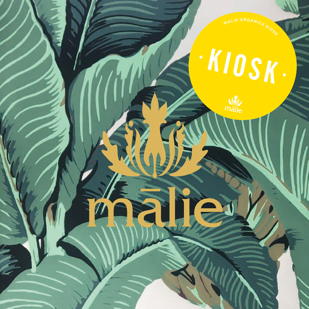 Malie Organics  KIOSK at 大丸札幌