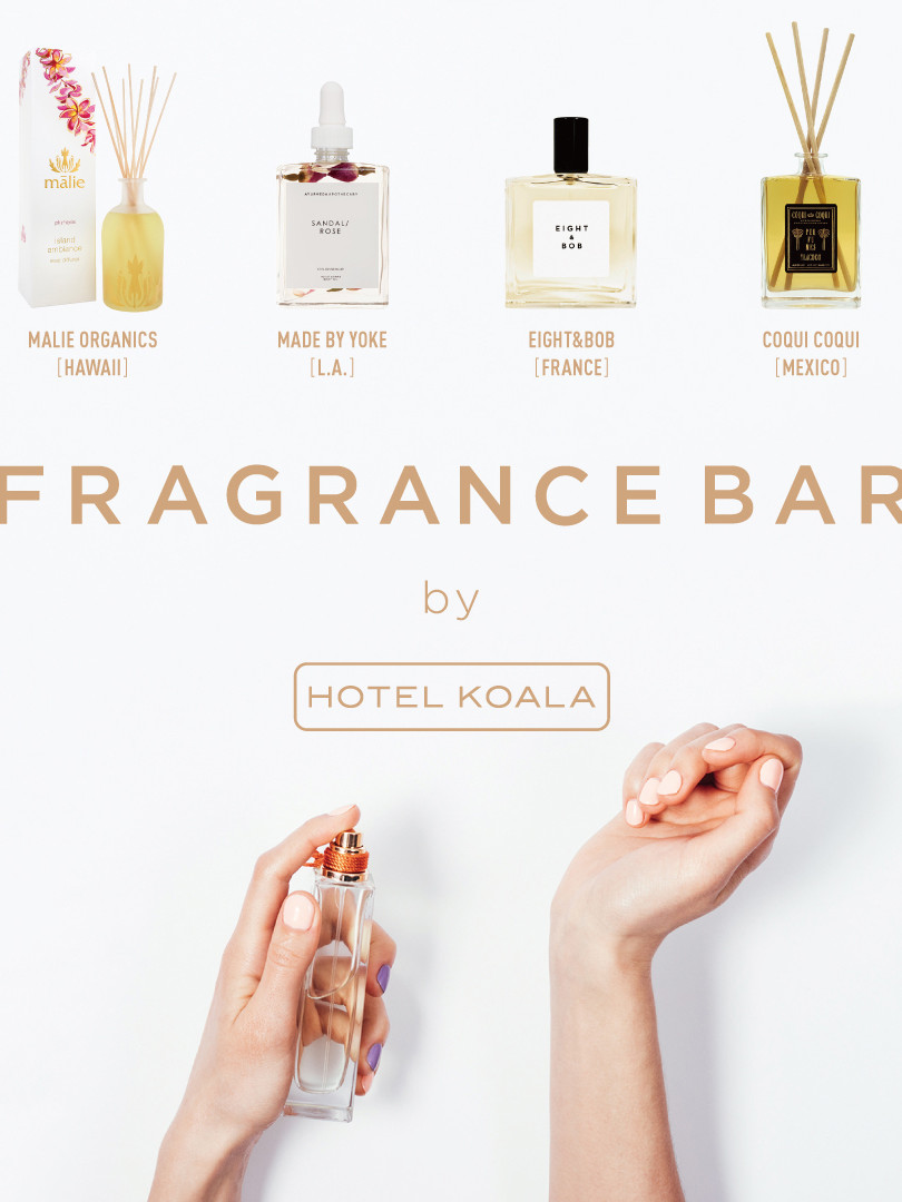 FRAGRANCE BAR by HOTEL KOALA at 日本橋三越
