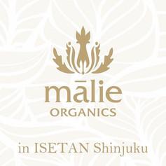Malie Organics in ISETAN Shinjuku
