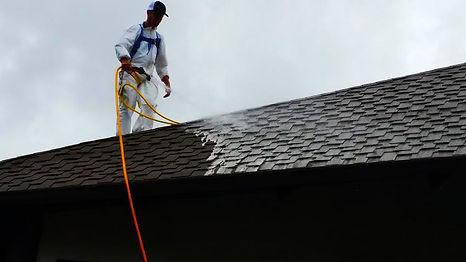 Roof Washing Bluewaterkauai