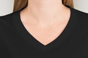 Ladies POW/MIA Sport-Tek Short Sleeve Shirt w/V-Neck
