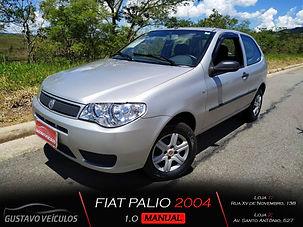 FIAT PALIO 1.0 GASOLINA 2 PORTAS ALARME COM SOM LIMPADOR E DESEMBAÇADOR TRASEIRO