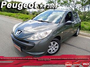 PEUGEOT 207 XR 1.4 FLEX COMPLETO ANO 2008/2009
