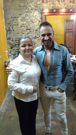 Horacio Franco y Directora