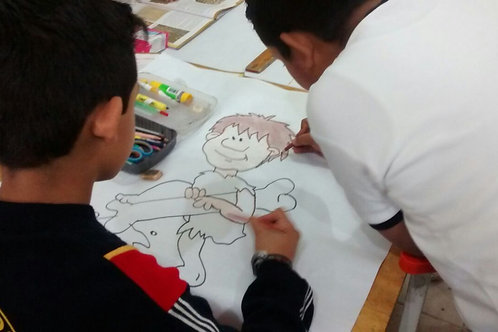 Taller de Solución Pacífica y Justa de Conflictos para Niñas y Niños