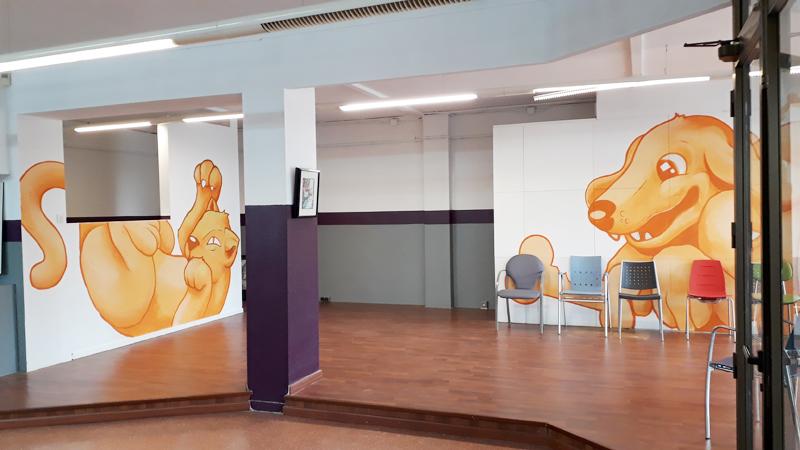 Salas de espera nuevo centro