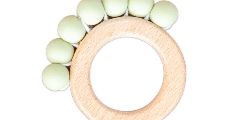Perla Teething Ring - Lime