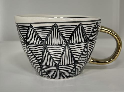 Handpainted Ceramic Mug Style 1