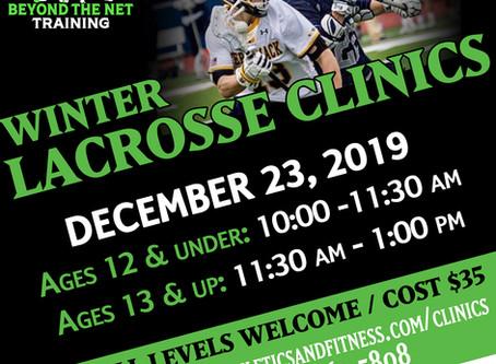 Winter Lacrosse Clinic