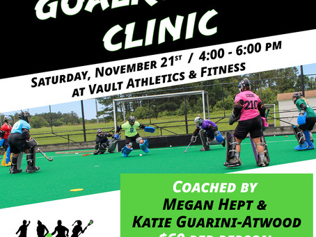November Goalkeeper Clinic