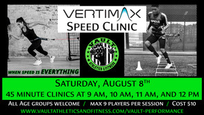 Vertimax Speed Clinic