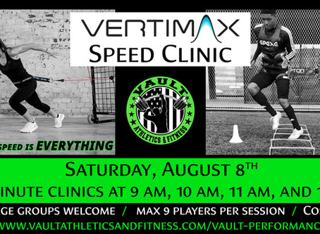 Vertimax Speed Clinic