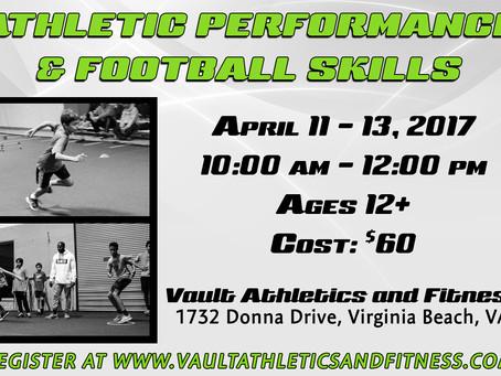 Athletics Performance & Football Skills Camp