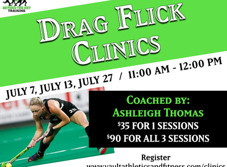 Drag Flick & Reverse Hitting Clinic
