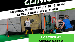 March Goalkeeper Clinic