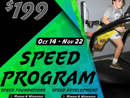 Speed Program