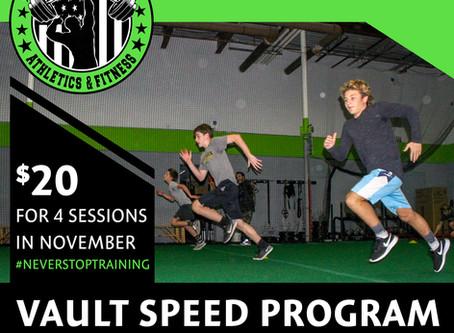 Vault Speed Program