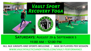 Sport Recovery Yoga - Saturday
