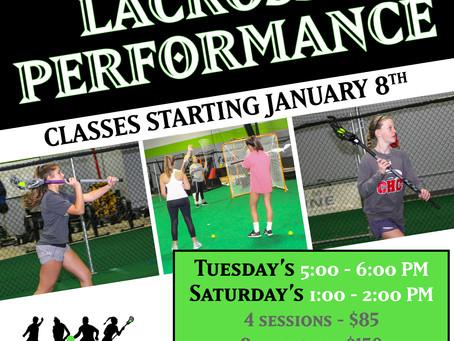 Lacrosse Performance Classes