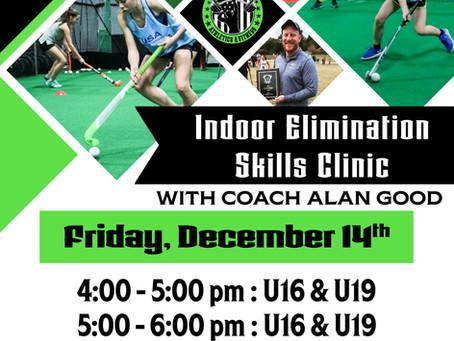Field Hockey Indoor Elimination Skills Clinic