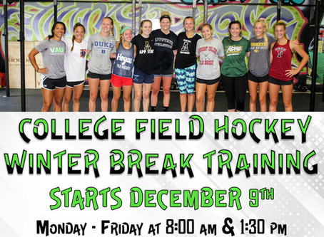 College Players Winter Training