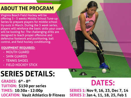 Middle School Tune-up Series