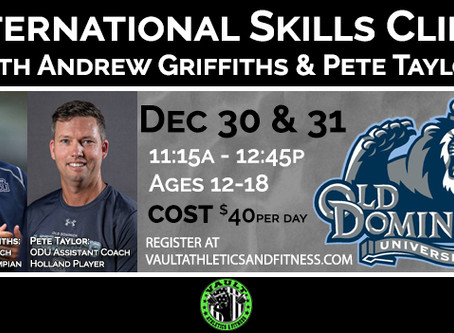 International Skills Clinic with ODU Coaches