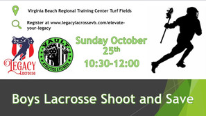 Boys Lacrosse Shoot & Save Clinic