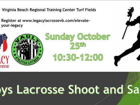 Boys Lacrosse Shoot & Save Clinic