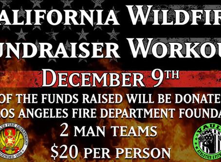 California Wildfire Fundraiser Workout