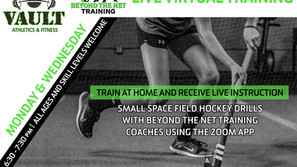 Live Zoom Field Hockey Sessions this week!!