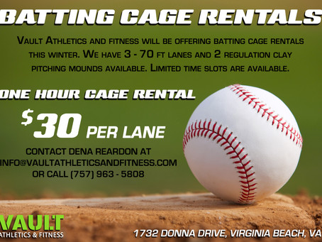 Batting Cage Rental