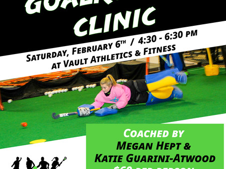 February Goalkeeper Clinic