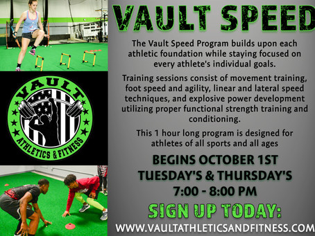 Vault Speed Program