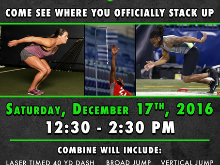 Winter Off Season Combine Testing