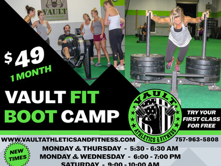 Vault Fit Boot Camp
