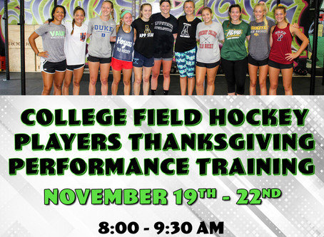 College Players Thanksgiving Training