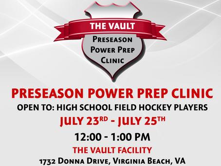 Preseason Power Prep Clinic
