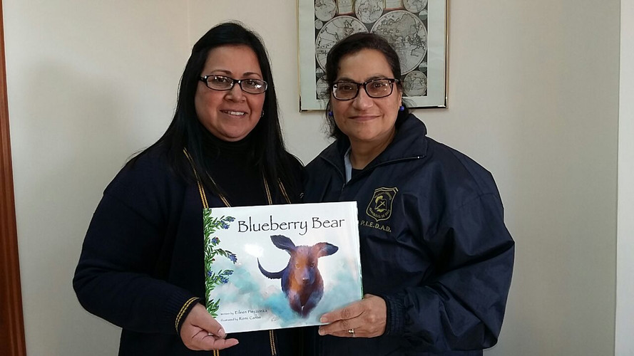 Blueberry Bear Book in Paraguay