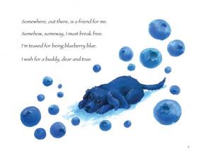 Blueberrry Bear A Furry Friends Tale poem