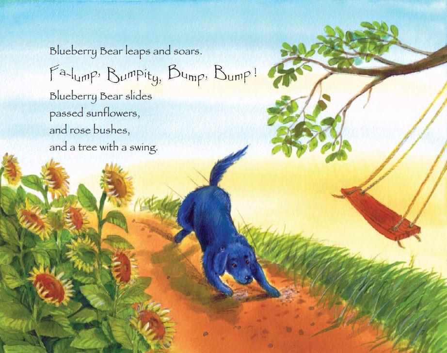 Blueberry Bear A Furry Friends Tale Inside Page